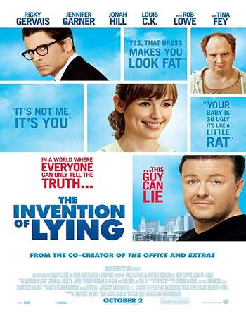 The Invention of Lying 2009 Hindi Dual Audio 300MB BluRay 480p ESubs