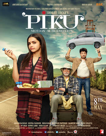 Piku 2015 Hindi 600MB BluRay 720p ESubs HEVC