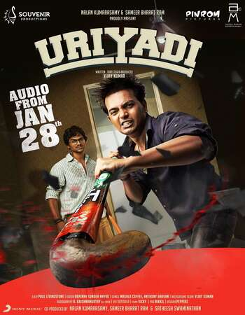 Uriyadi 2016 Hindi Dual Audio 450MB UNCUT HDRip 720p ESubs HEVC