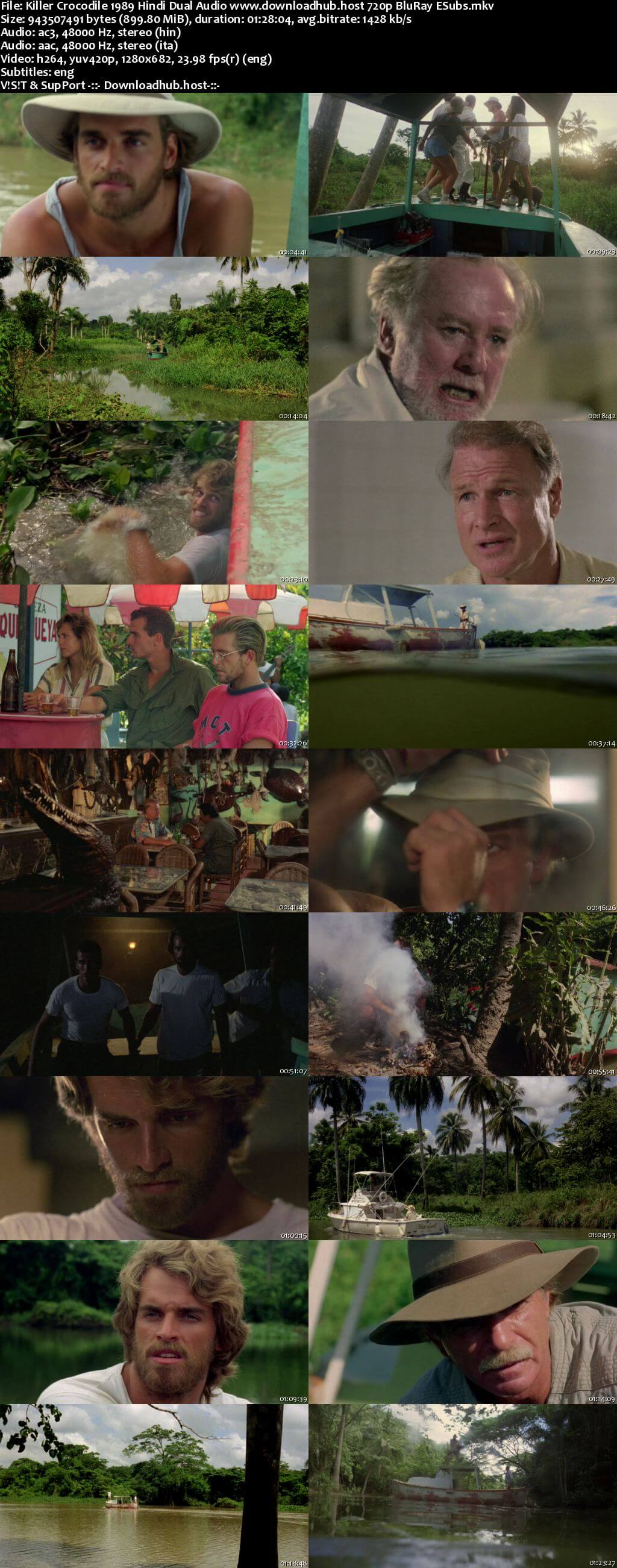 Killer Crocodile 1989 Hindi Dual Audio 720p BluRay ESubs