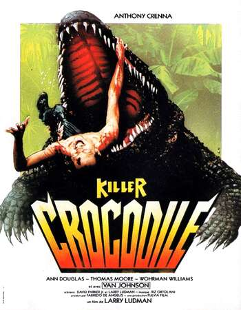 Killer Crocodile 1989 Hindi Dual Audio BRRip Full Movie Download