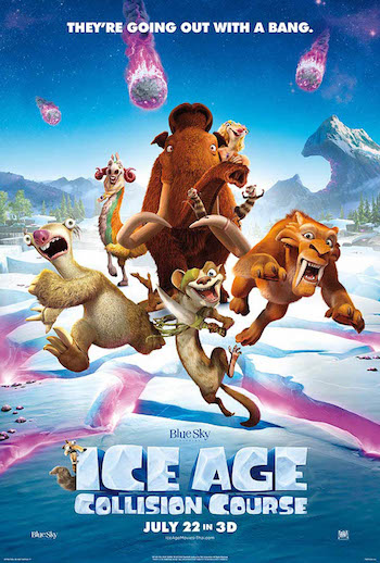 Ice Age Collision Course 2016 Dual Audio Hindi English BRRip 720p 480p Movie Download