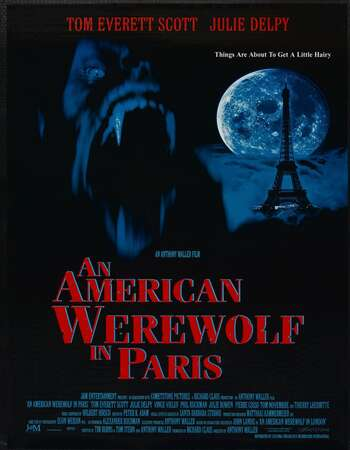 An American Werewolf in Paris 1997 Hindi Dual Audio BRRip Full Movie 480p Download