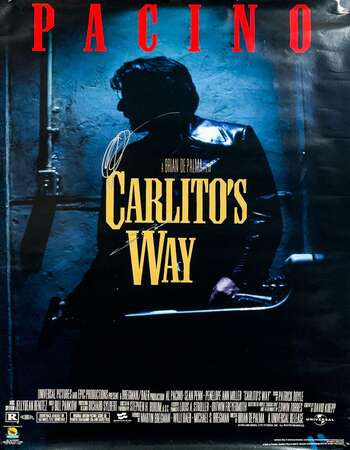 Carlitos Way 1993 Hindi Dual Audio BRRip Full Movie 480p Download