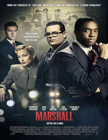 Marshall 2017 Hindi Dual Audio 350MB BluRay 480p ESubs