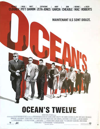 Oceans Twelve 2004 Hindi Dual Audio BRRip Full Movie Download