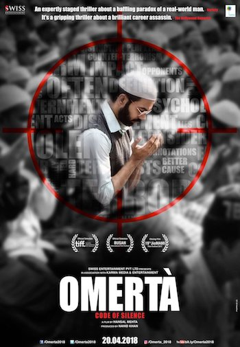 Omerta 2017 Hindi 480p WEB-DL 300mb