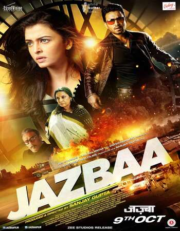 Jazbaa 2015 Hindi 550MB HDRip 720p HEVC