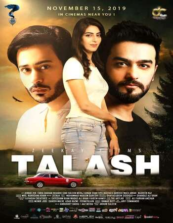 Talash 2019 Urdu 720p HDRip ESubs