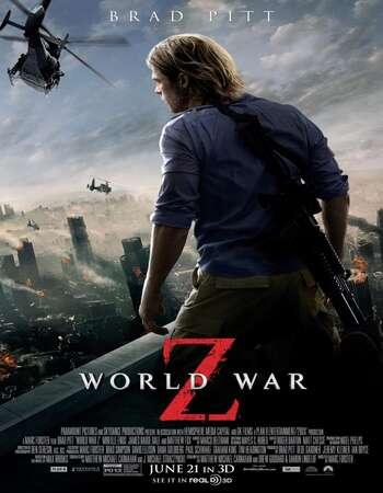 World War Z 2013 Hindi Dual Audio BRRip Full Movie Download