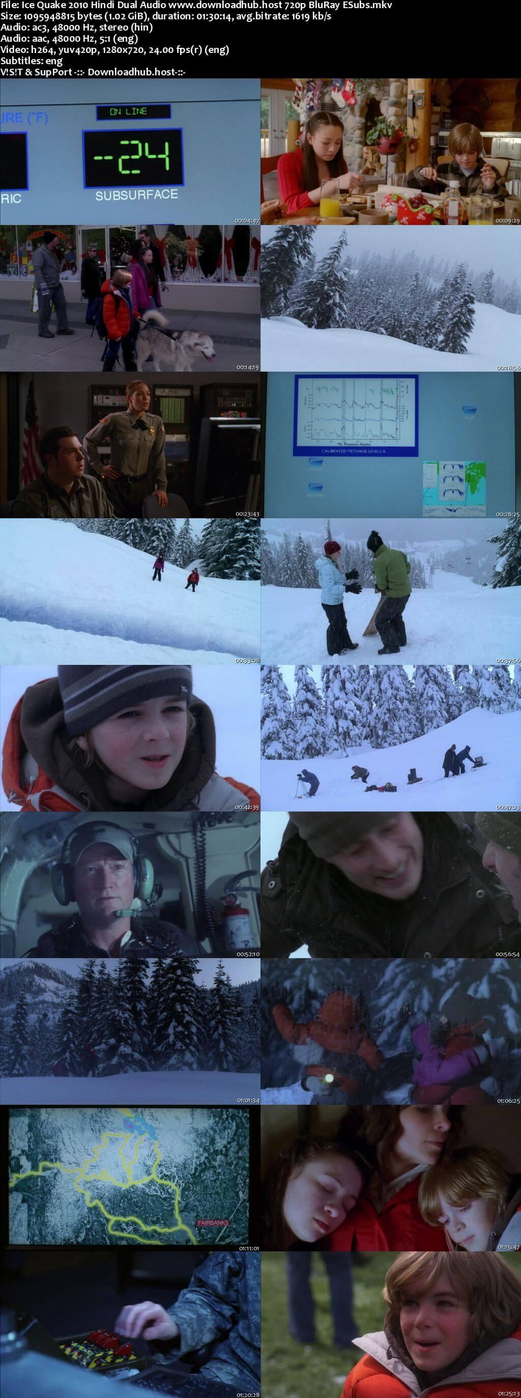 Ice Quake 2010 Hindi Dual Audio 720p BluRay ESubs