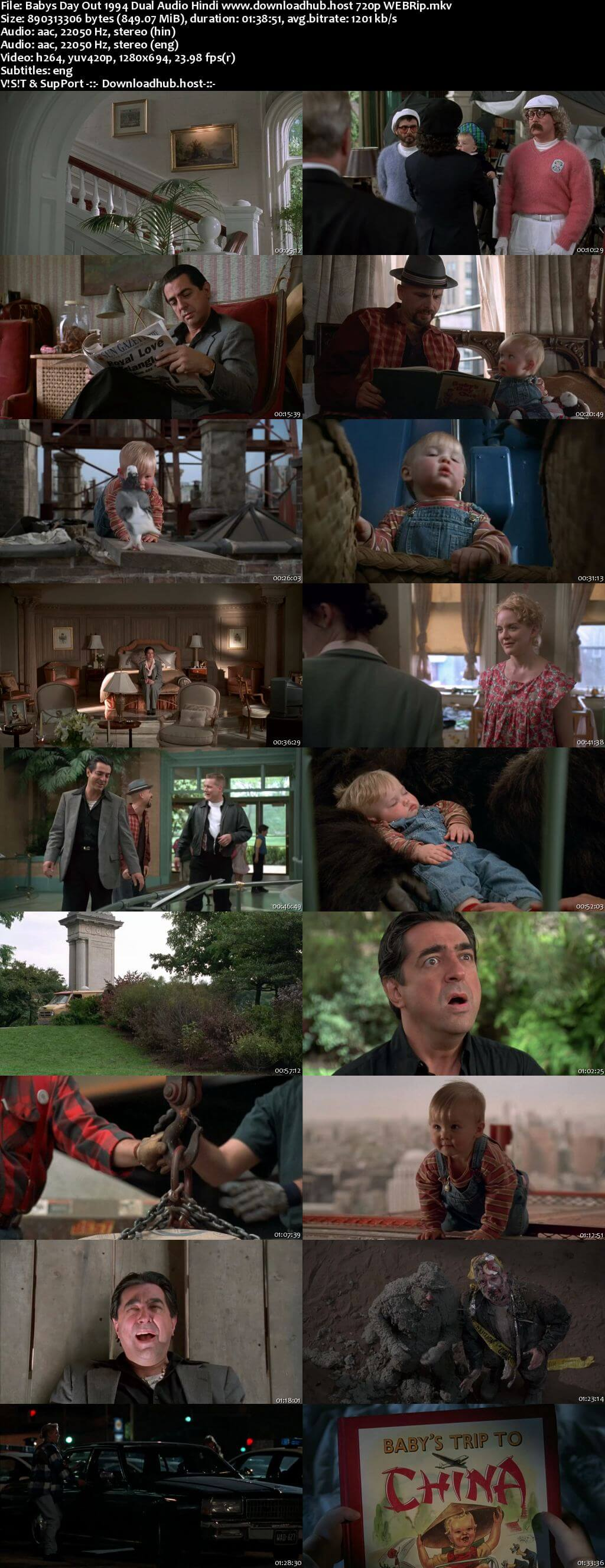 Babys Day Out 1994 Hindi Dual Audio 720p WEBRip ESubs