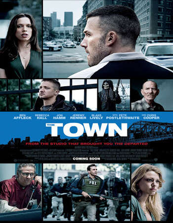 The Town 2010 Hindi Dual Audio BRRip Full Movie Download