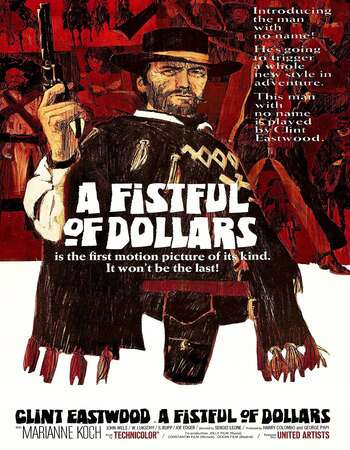 A Fistful of Dollars 1964 Hindi Dual Audio BRRip Full Movie 480p Download
