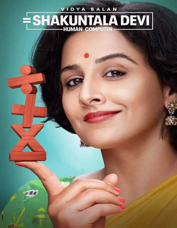 Shakuntala Devi 2020 Hindi 600MB HDRip 720p ESubs HEVC