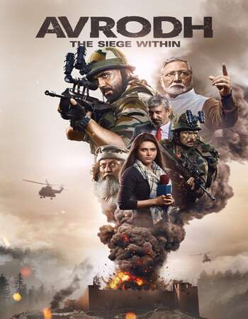 Avrodh the Siege Within 2020 Hindi Season 01 Complete 720p HDRip x264
