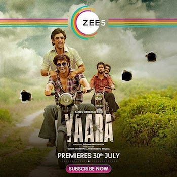Yaara 2020 Hindi 720p WEB-DL 990MB