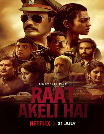 Raat Akeli Hai 2020 Hindi 750MB HDRip 720p ESubs HEVC