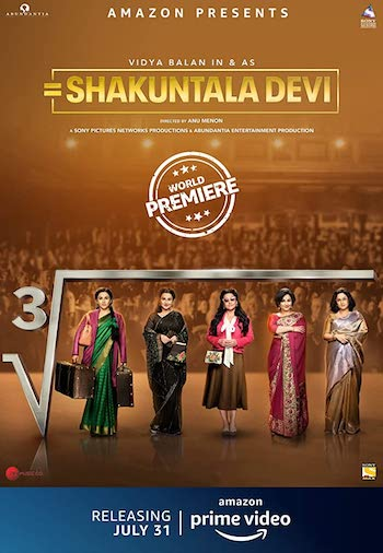 Shakuntala Devi 2020 Hindi 720p WEB-DL 950MB