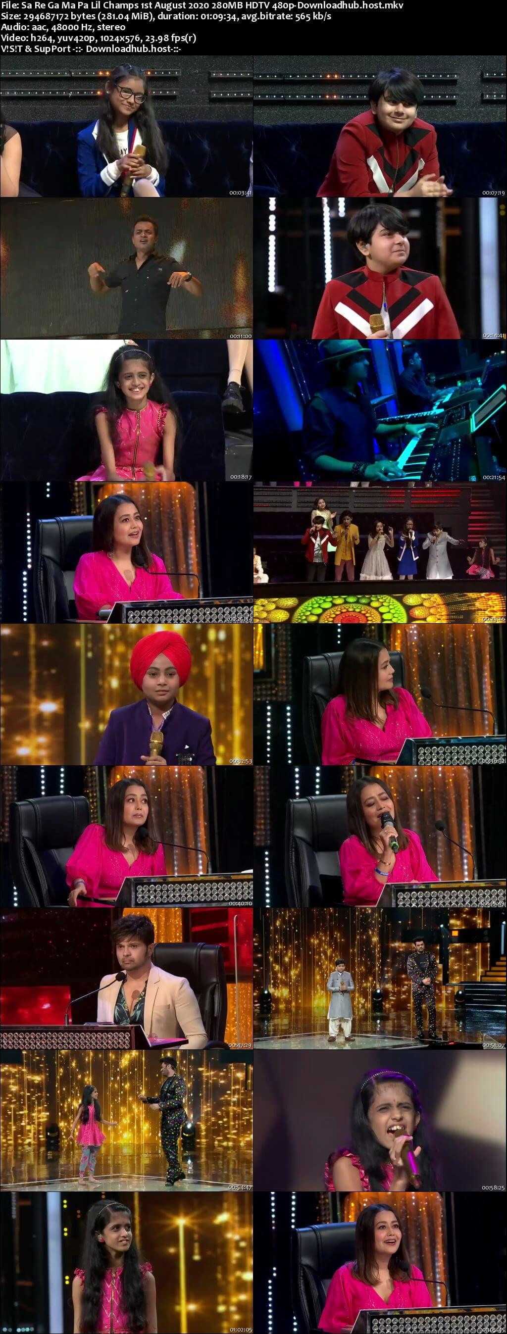 Sa Re Ga Ma Pa Lil Champs 01 August 2020 Episode 13 HDTV 480p