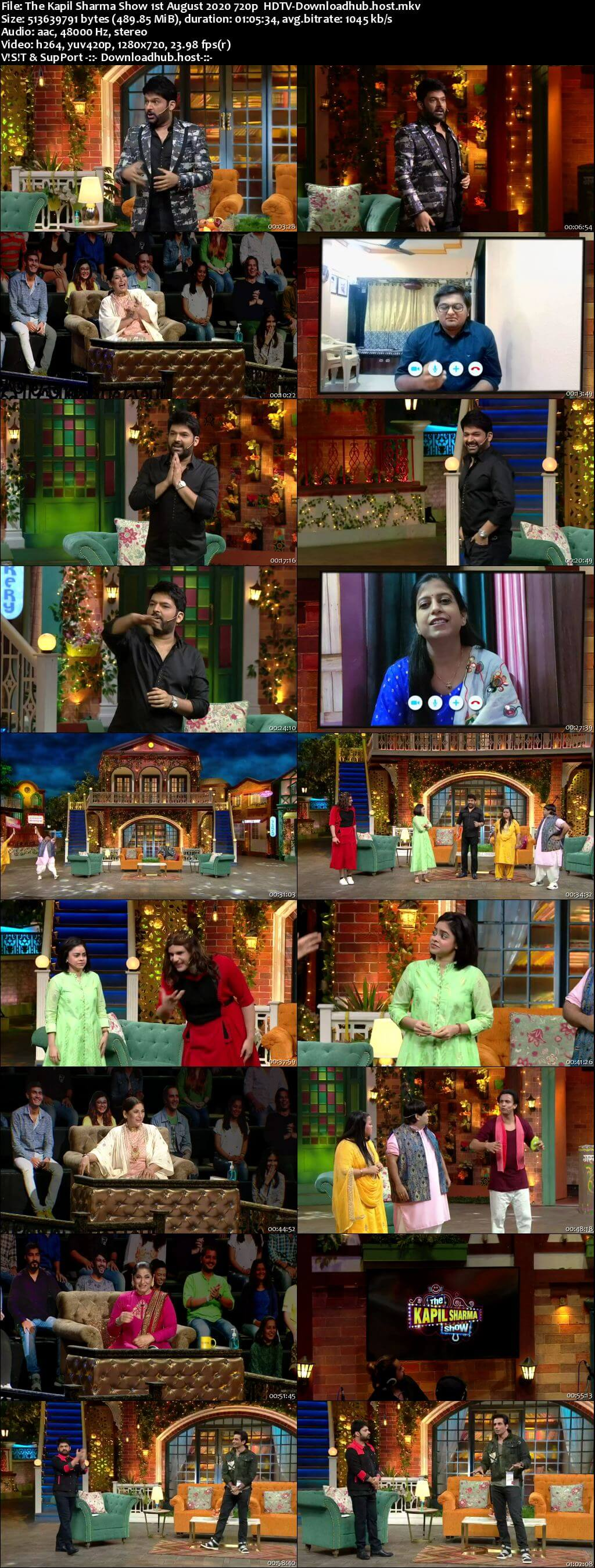 The Kapil Sharma Show 01 August 2020 Episode 128 HDTV 720p 480p