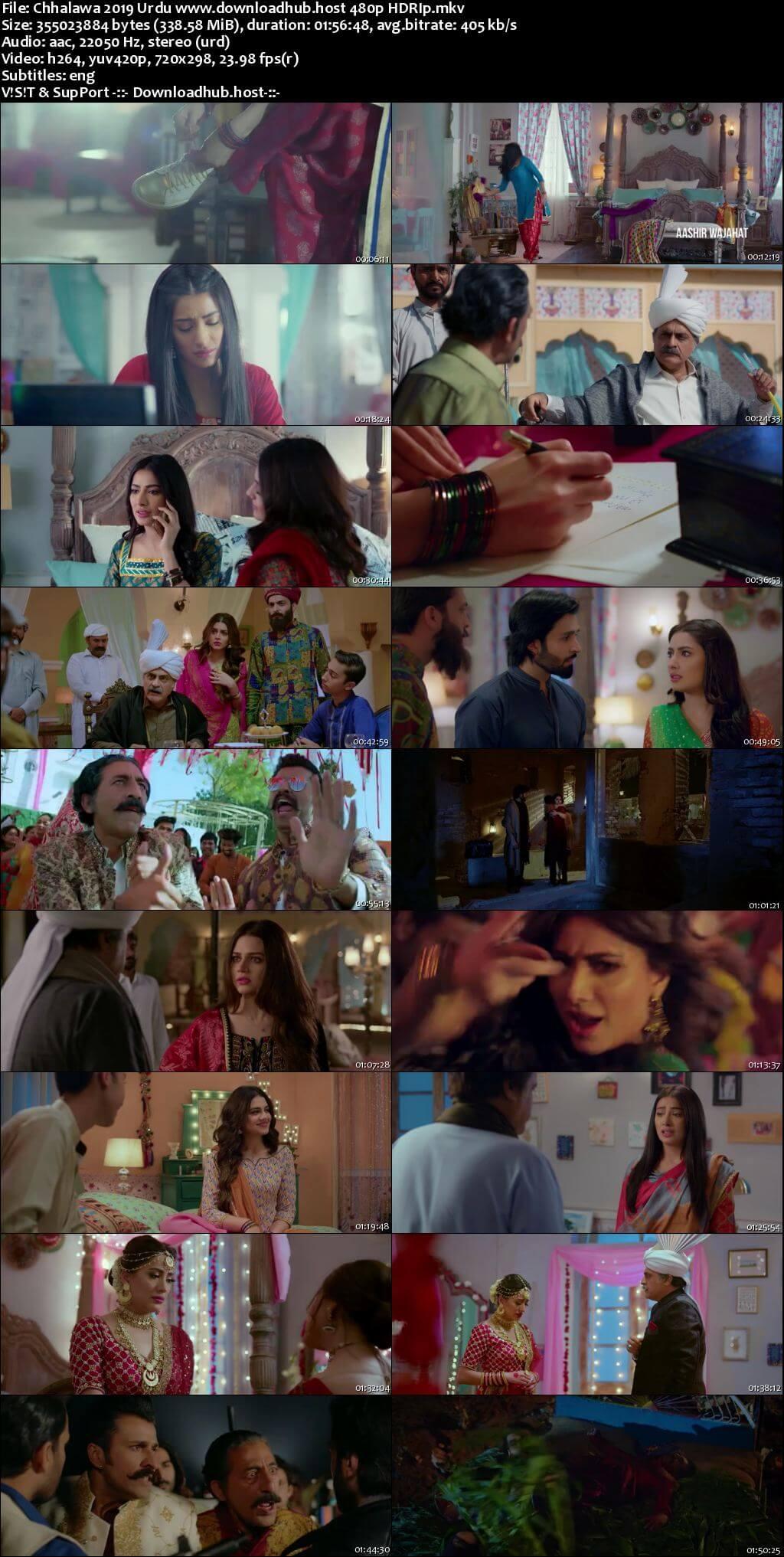 Chhalawa 2019 Urdu 300MB HDRip 480p ESubs