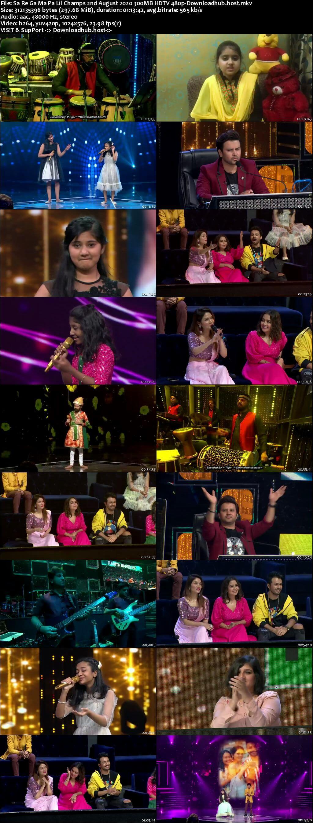 Sa Re Ga Ma Pa Lil Champs 02 August 2020 Episode 14 HDTV 480p