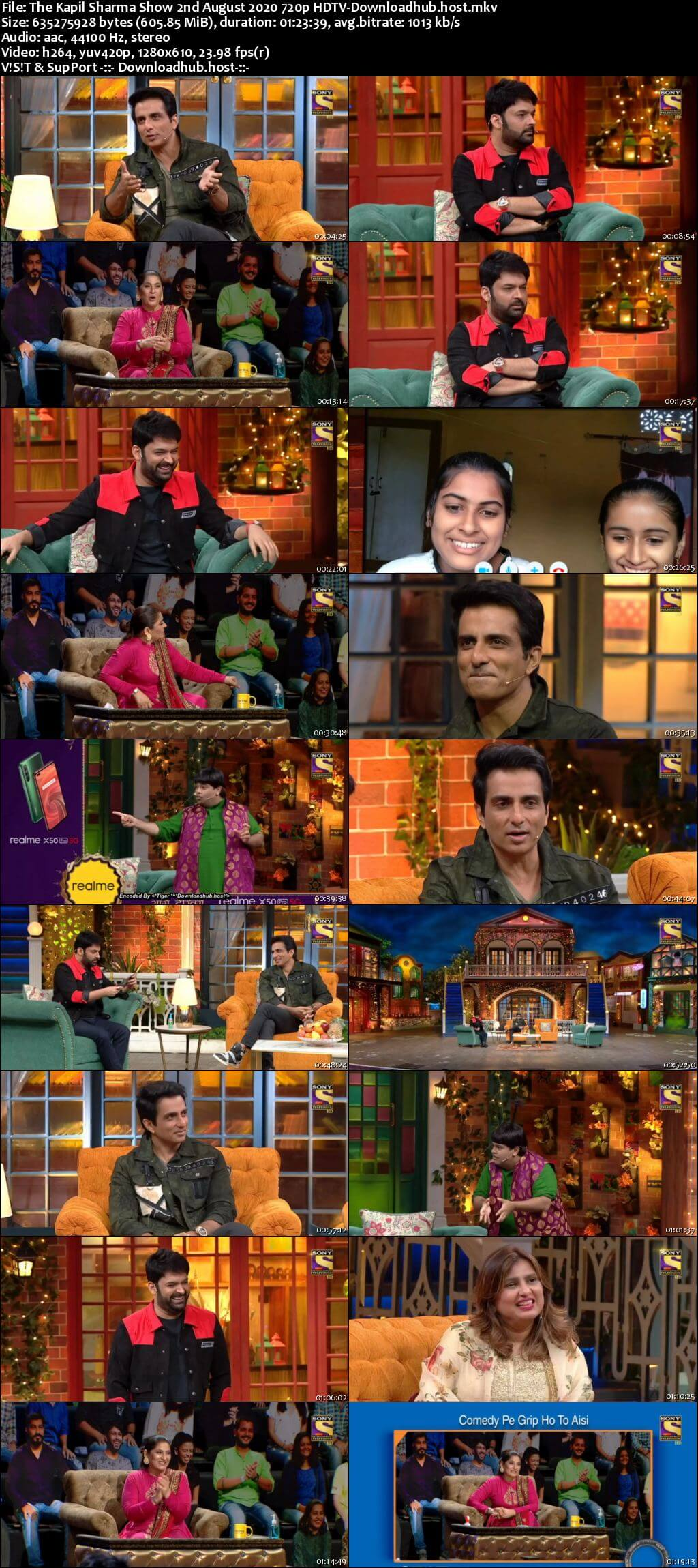 The Kapil Sharma Show 02 August 2020 Episode 129 HDTV 720p 480p