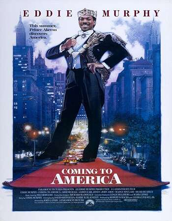 Coming to America 1988 Hindi Dual Audio 350MB BluRay 480p ESubs