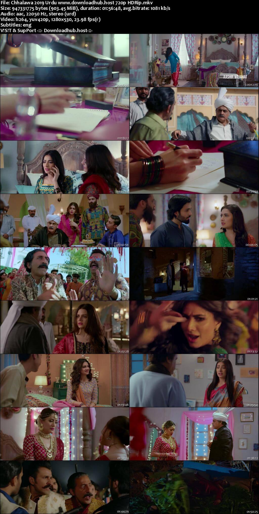 Chhalawa 2019 Urdu 720p HDRip ESubs