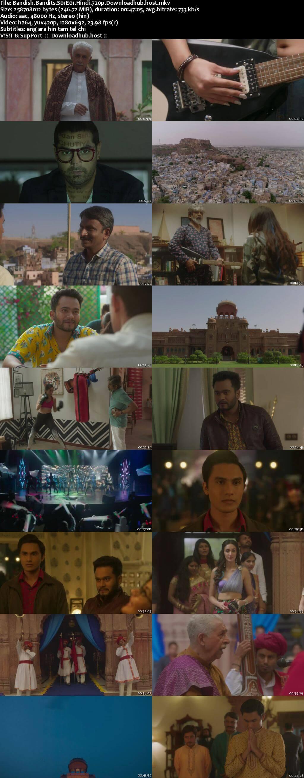 Bandish Bandits 2020 Hindi Season 01 Complete 720p HDRip MSubs