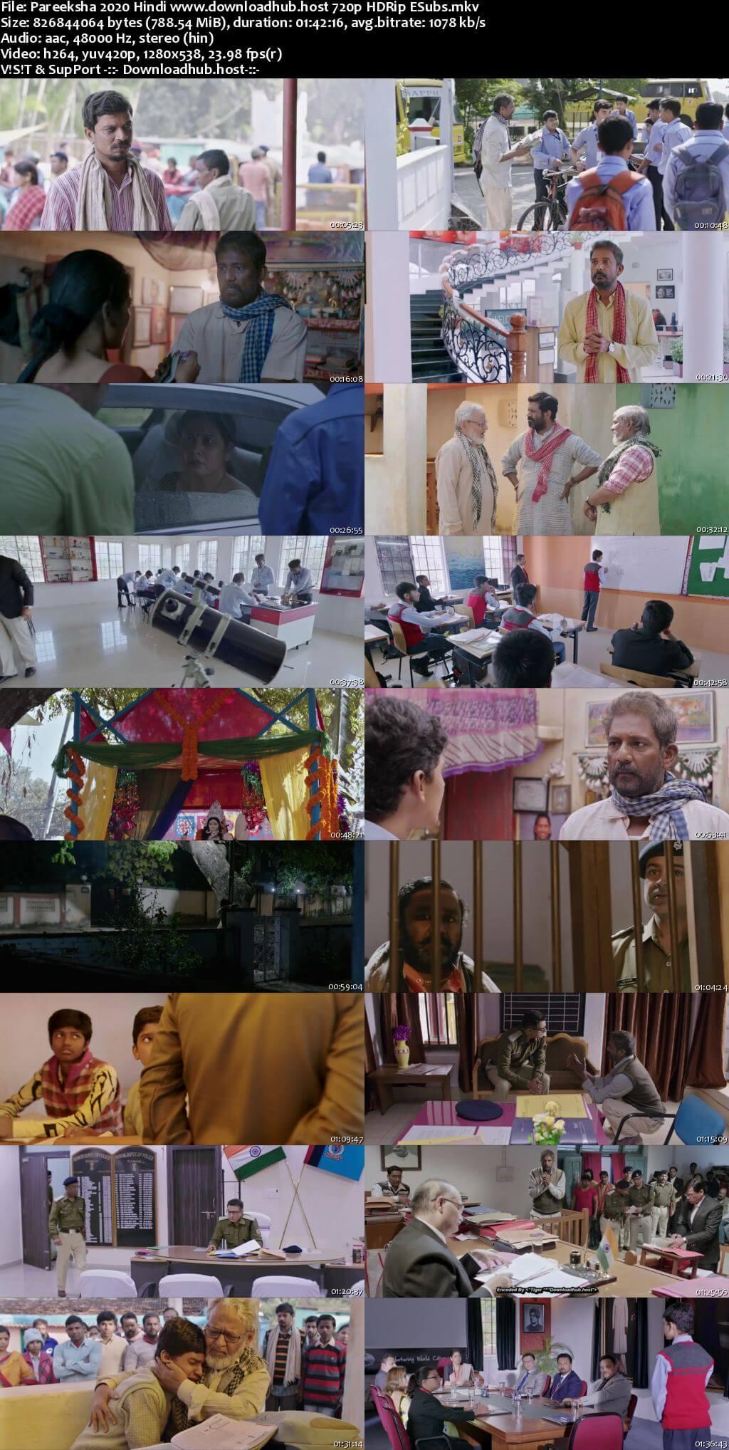 Pareeksha 2020 Hindi 720p HDRip ESubs