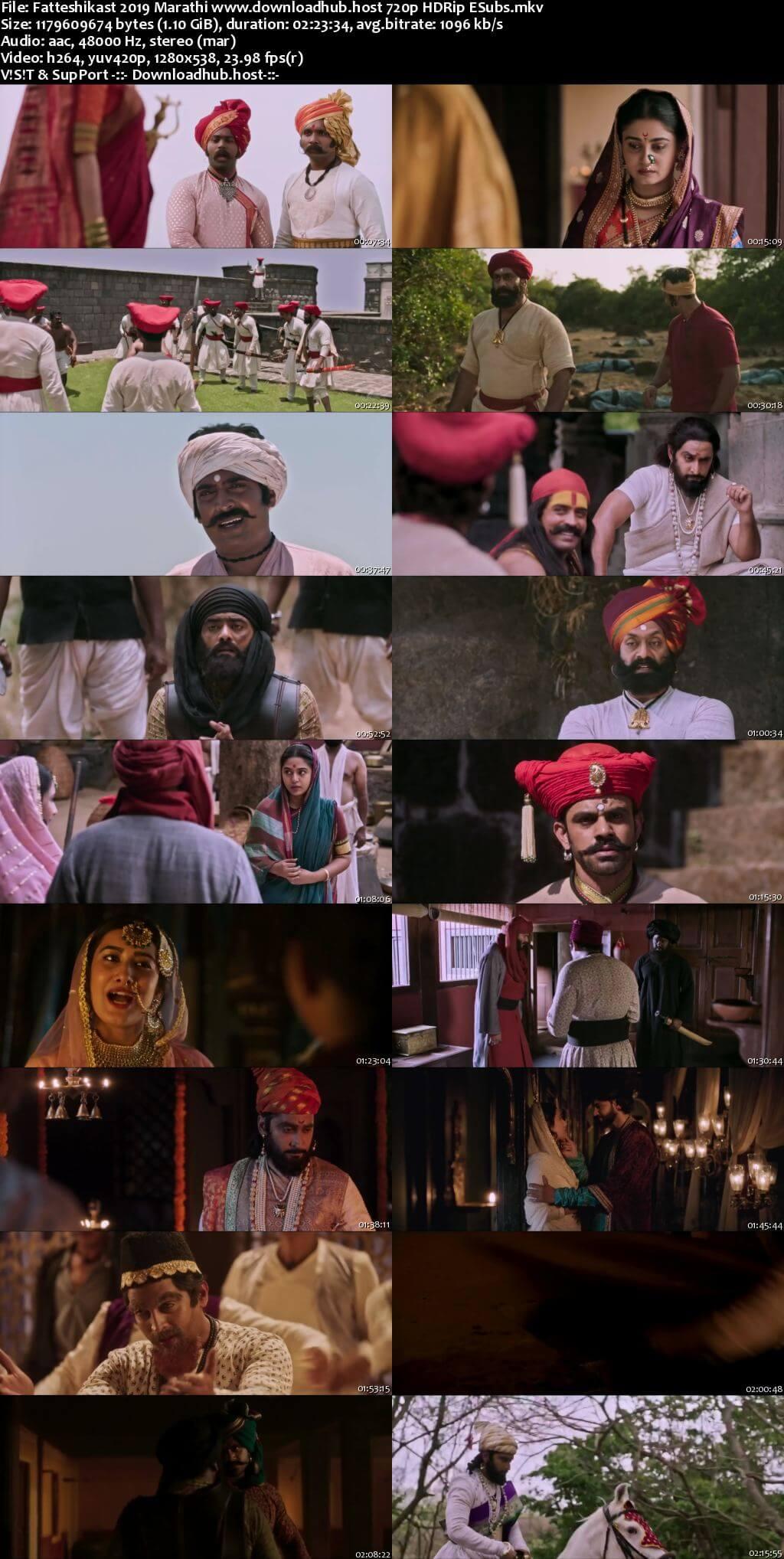 Fatteshikast 2019 Marathi 720p HDRip ESubs