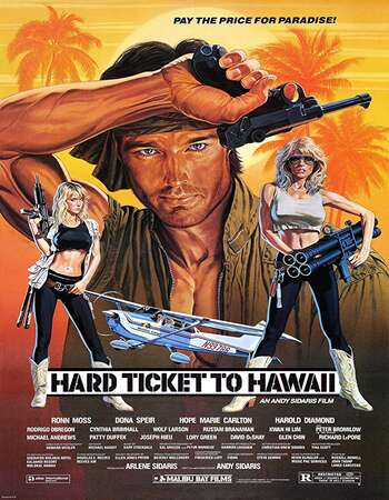 Hard Ticket to Hawaii 1987 Hindi Dual Audio 720p UNRATED BluRay ESubs