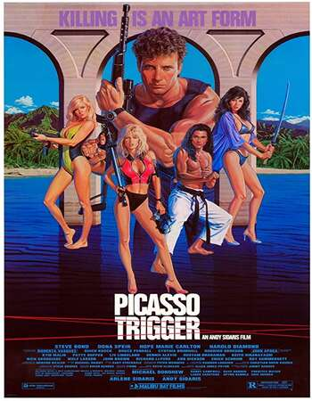 Picasso Trigger 1988 Hindi Dual Audio 300MB UNRATED BluRay 480p ESubs
