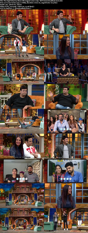 The Kapil Sharma Show 08 August 2020 Episode 130 HDTV 720p 480p