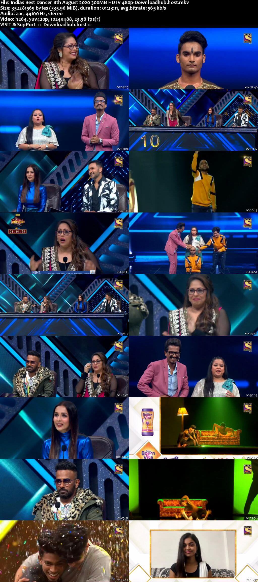 Indias Best Dancer 08 August 2020 Episode 17 HDTV 480p