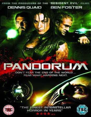 Pandorum 2009 Hindi Dual Audio 600MB BluRay 720p ESubs HEVC