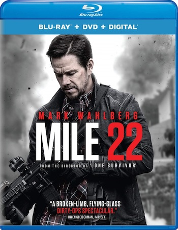 Mile 22 (2018) Dual Audio Hindi 480p BluRay 350MB