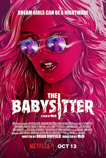 The Babysitter 2017 Hindi Dual Audio 450MB Web-DL 720p ESubs HEVC
