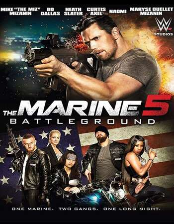 The Marine 5 Battleground 2017 Hindi Dual Audio 300MB BluRay 480p ESubs