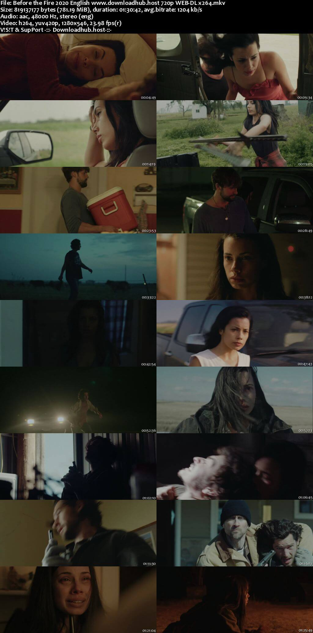 Before the Fire 2020 English 720p Web-DL 750MB