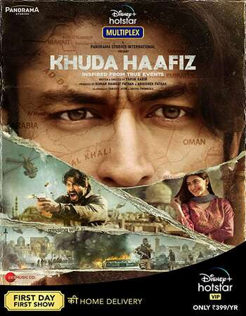 Khuda Haafiz 2020 Hindi 700MB HDRip 720 ESubs HEVC