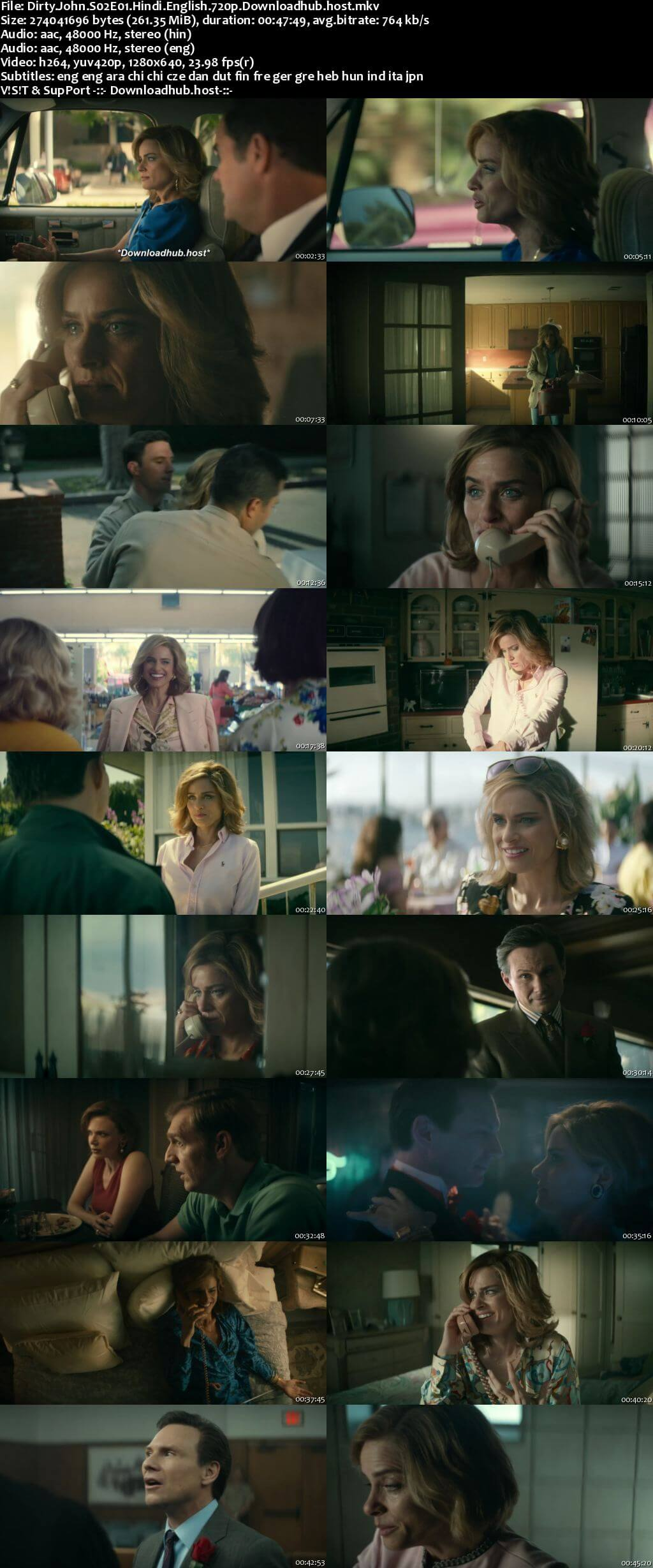 Dirty John 2020 S02 Complete Hindi Dual Audio 720p Web-DL MSubs