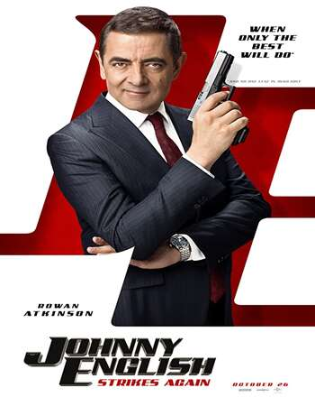 Johnny English Strikes Again 2018 Hindi ORG Dual Audio 500MB BluRay 720p ESubs HEVC