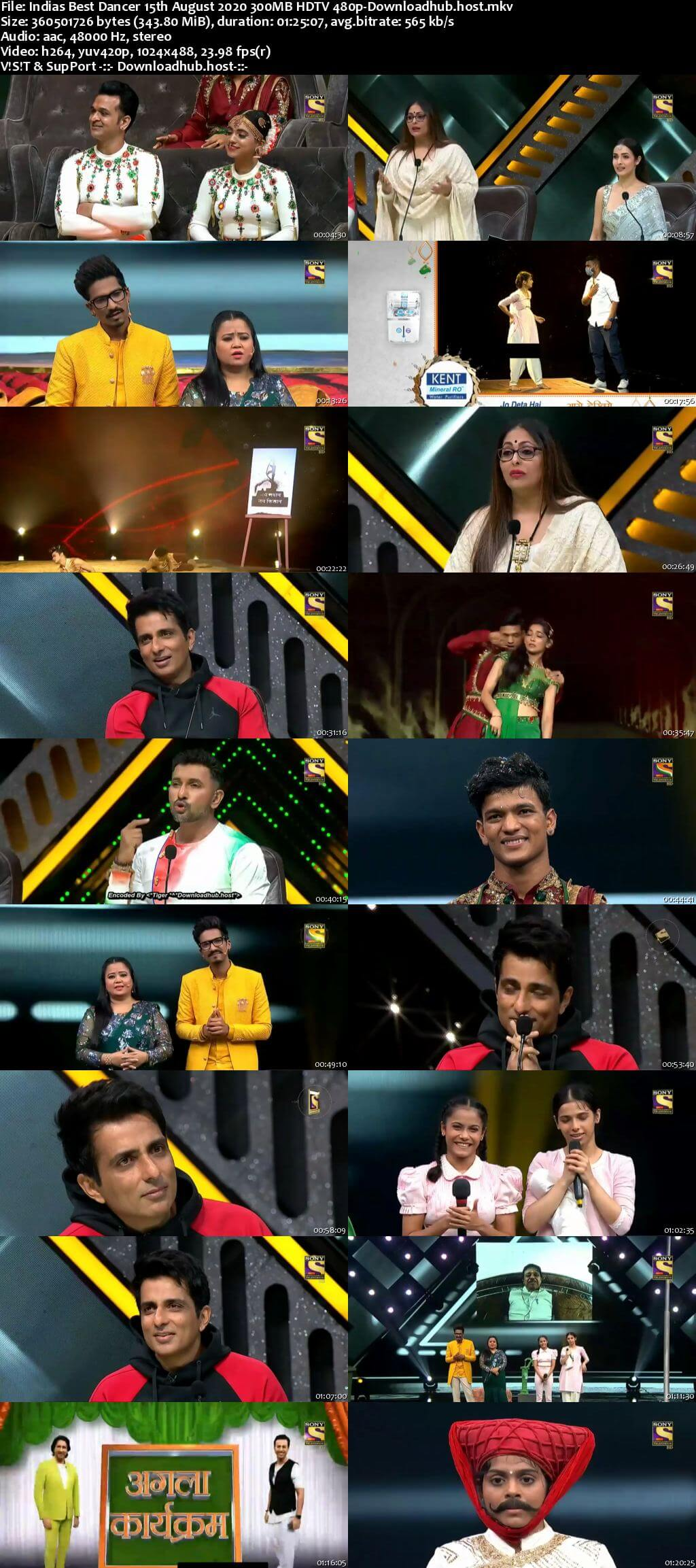 Indias Best Dancer 15 August 2020 Episode 19 HDTV 480p