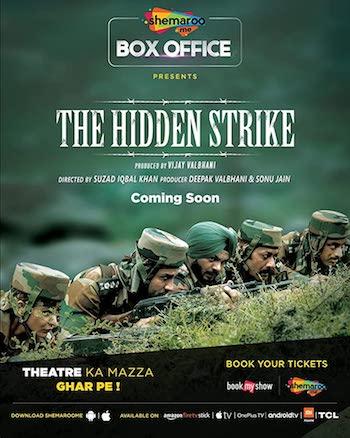 The Hidden Strike 2020 Hindi 720p HDRip 750MB