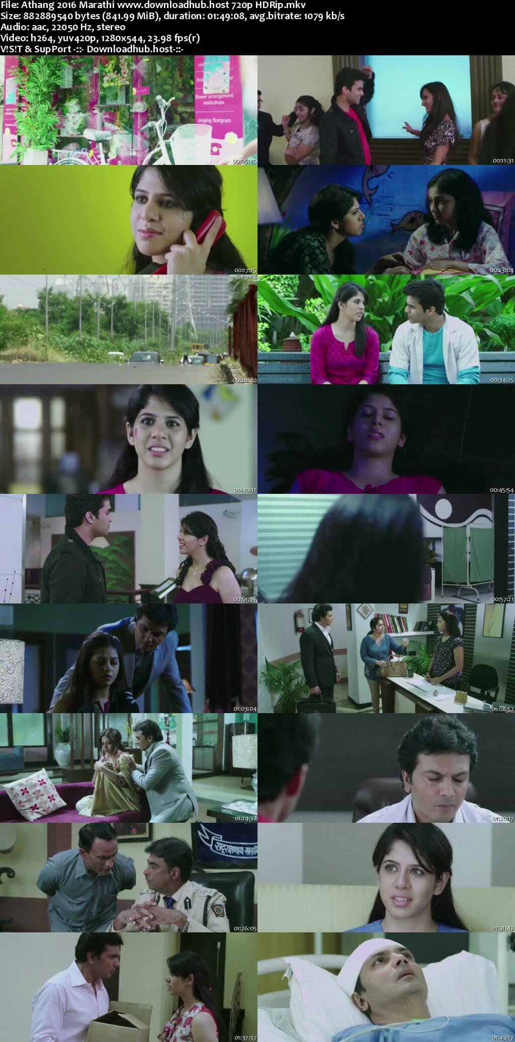 Athang 2016 Marathi 720p HDRip x264
