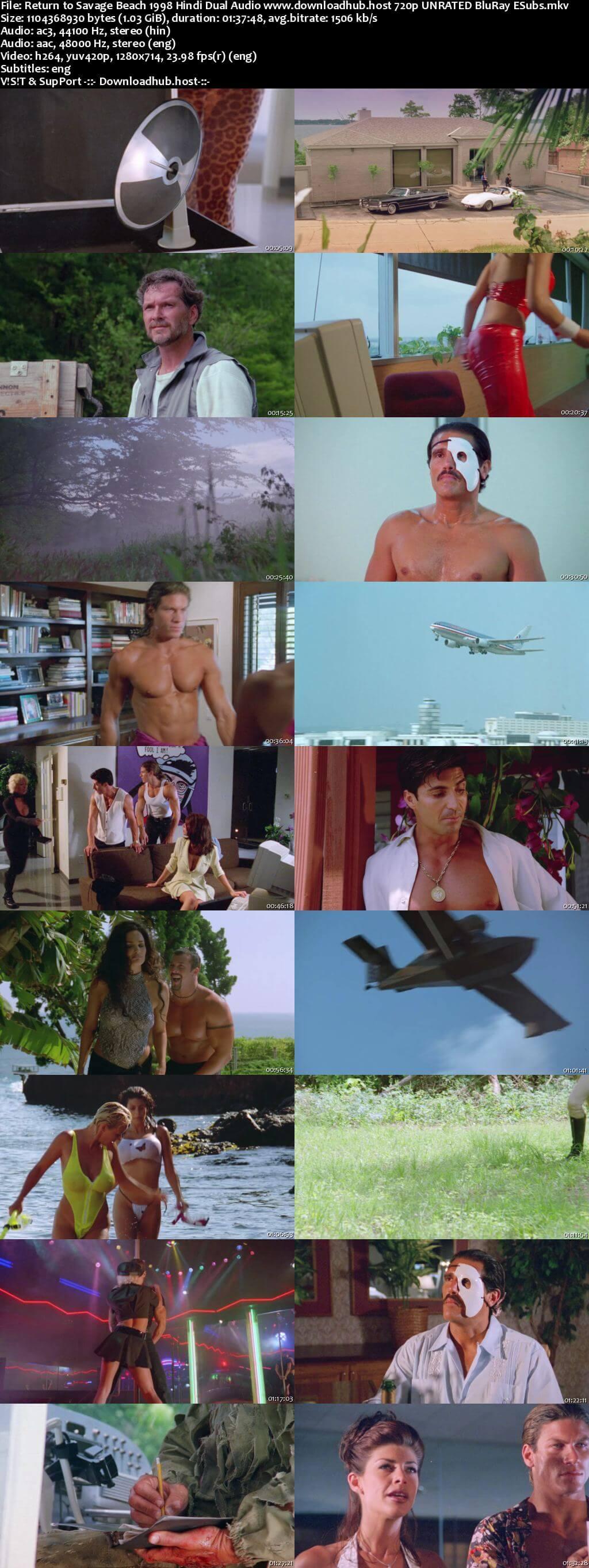 Return to Savage Beach 1998 Hindi Dual Audio 720p UNRATED BluRay ESubs