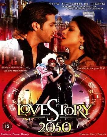 Love Story 2050 2008 Full Hindi Movie 720p HDRip Download